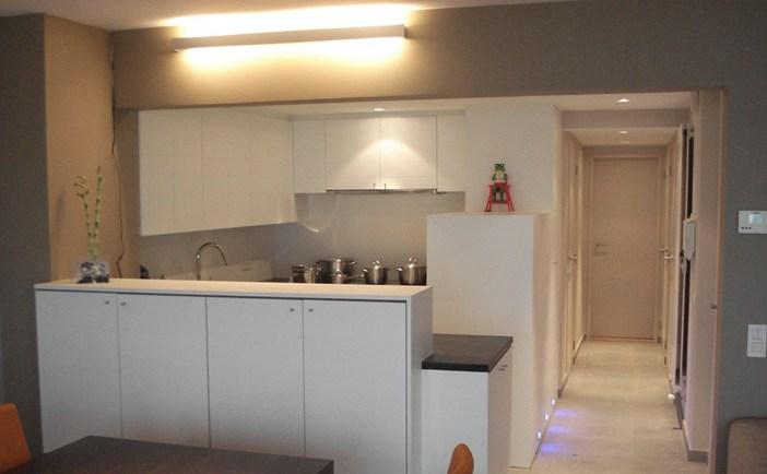 Espaces de séjour et cuisines